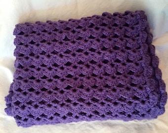 Crochet baby blanket, baby shower gift