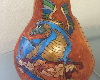 Blue dragon gourd