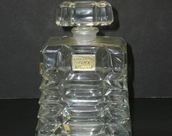 Very Rare,c.1931-32 PINX DE RAYMOND Large,Unusual,Rare Perfume Czech..Made Bottle