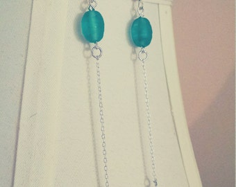 Upcycled Green Glass Shoulder-Brushers