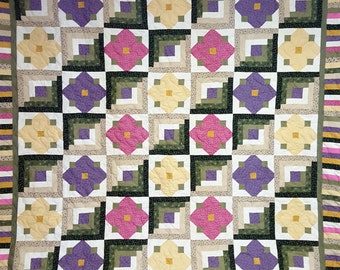 Lone Star Quilt Pattern Queen Size : Lone Star Queen/King Size Quilt