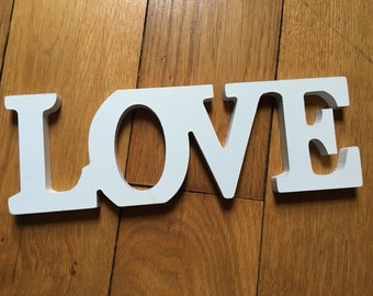 LOVE wooden