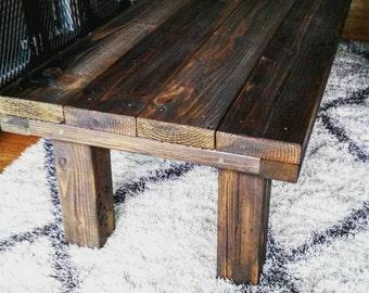 Coffee table, rustic, vintage, farmhouse,barnyard