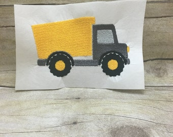 Dump Truck Embroidery Deisign, Truck Embroidery Design
