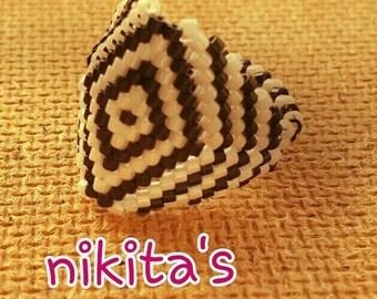 Miyuki ring, Handmade Ring