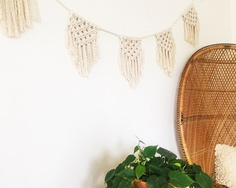 Macramé Bunting • Nursery / Wedding / Home Decor