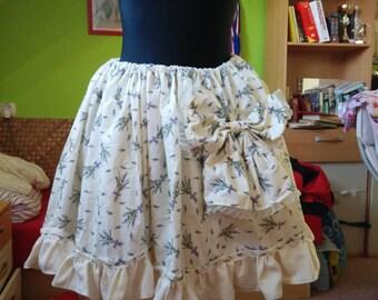 Lavender lolita skirt