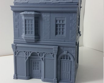28mm Tabletop Terrain Victorian Style Townhouse