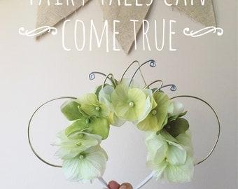 Tiana Flower Crown Minnie Ears