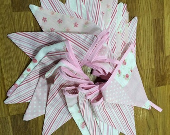 Long Shabby Chic Bunting