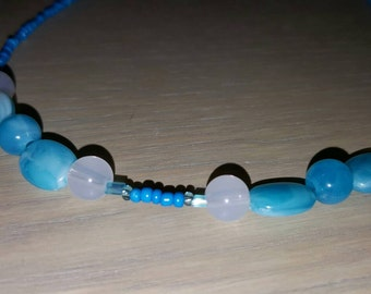 Blue Me Away Necklace