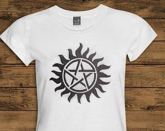 Supernatural Anti Possession Tattoo Applique Embroidery Design File