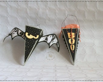 Spooky Halloween bag, gift wrap, party decoration, unique