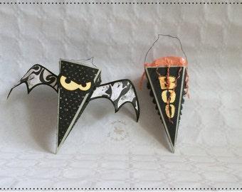 Spooky Halloween bag, gift wrap, party decoration, unique