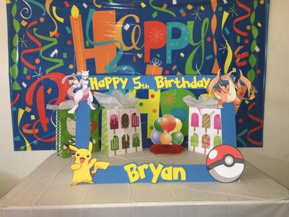 pokemon pikachu party photo booth frame