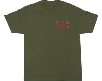 You're The Sun In My Morning Babe Short Sleeve Kanye West T Shirt Olive Gov Ball Tee