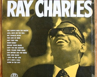 Ray Charles - The Authentic Ray Charles - UK Pressing