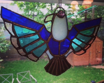Thunderbird Stained Glass