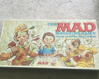 Vintage 1979 mad tv board game