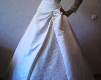 1. A new wedding dress, wedding, lace, champagne, Avery, Новое свадебное платье, венчание, кружево, шампань эйвори