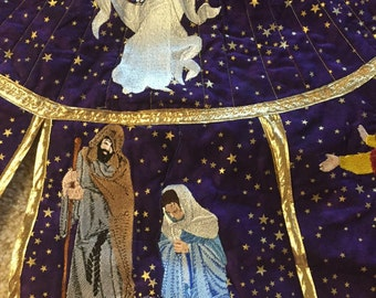 nativity table topper