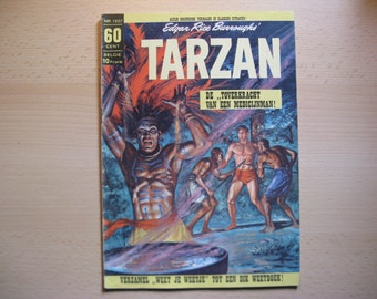An old Classics comic book nr 1227 Edgar Rice Burroughs: Tarzan the Jungle-law