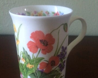 Crown Trent Floral Coffee Mug