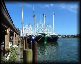 Cape May Fishing Fleet Wall Art