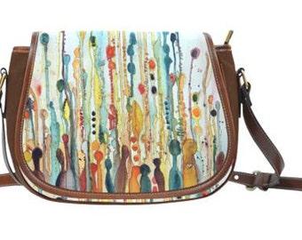 Wildflower Saddle Bag