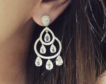 Any Piccin Taj Mahal Bridal Earrings