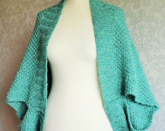 "special cardigan ""round jacket Alice"" in mint green"