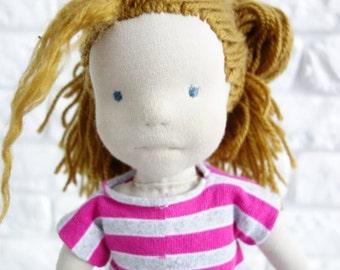 AMANDA, Waldorf Doll, Waldorf inspired doll