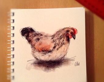 Notebook - hen
