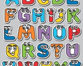 Magnetic Alphabet Characters - ABC Magnets