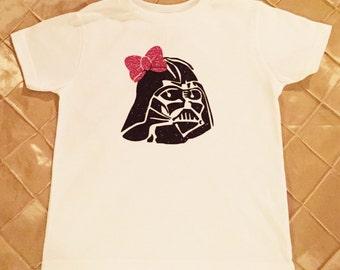 Darth Vader Shirt for Girls