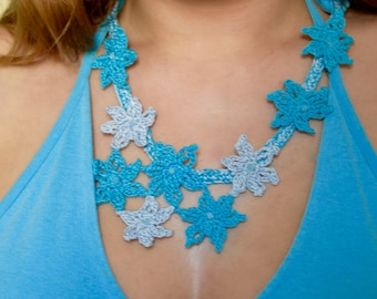 Alpine stars necklace