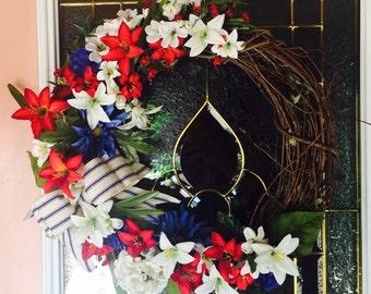 Seasonal Floral Wreath