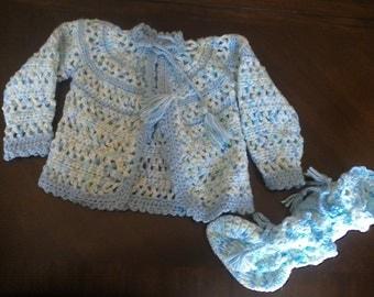 Baby Sweater Set
