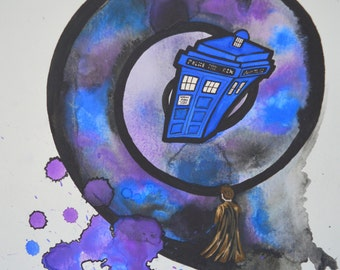 Doctor who TARDIS universe David Tennant