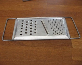French Vintage Shabby Chic Kitchen Grater Utensil La Menagere