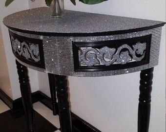 Half moon hall/console table