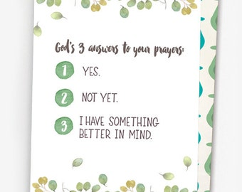 Answer to Prayer - Miscarried Mom Greeting Card