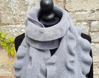 Scottish angora/wool scarf
