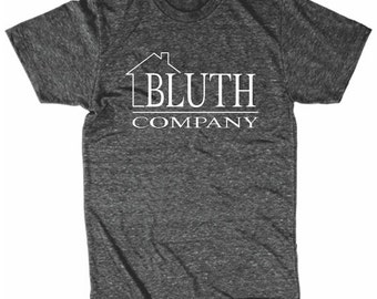 Bluth Company Mens Shirt Arrested Development Inspired Guys Athletic Fitting T-Shirt