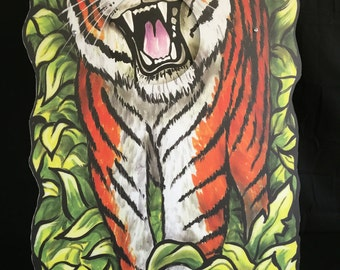 Bean bag toss Tiger
