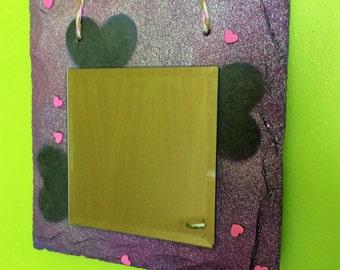 Handmade Slate Mirror