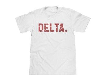 Delta Sigma Theta T-Shirt | DST // black greek // nphc // sorority // greek gift // crossing gift
