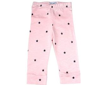 Little Star Baby / Toddler Organic Leggings - Pink
