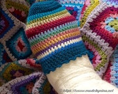 Toe cosy - ideal gift for someone with a foot cast!