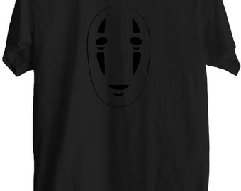 No Face – Spirited Away - Minimal T-Shirt - No Face T-Shirt - No Face T - 100% Cotton